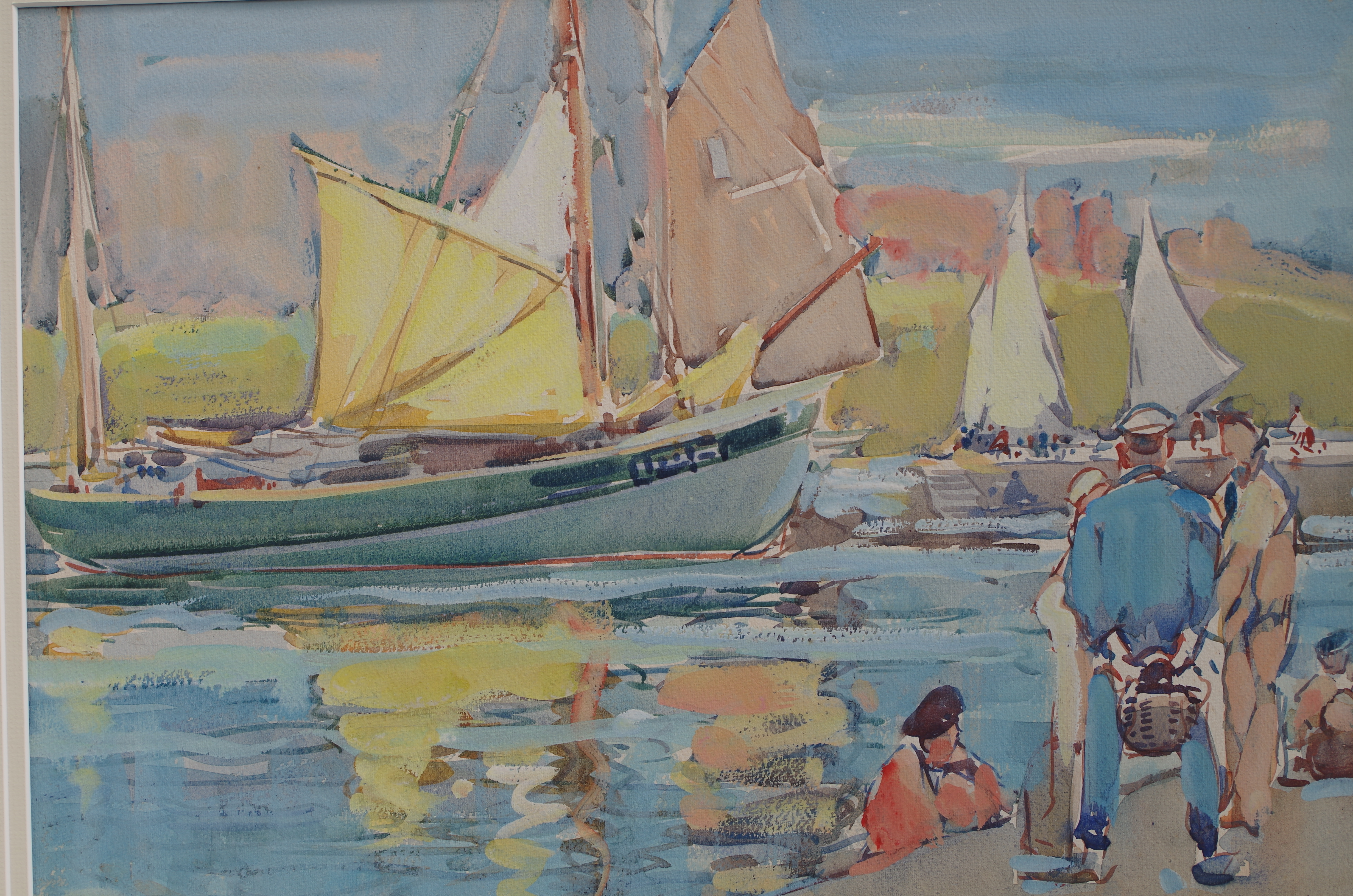 Boats at Concarneau