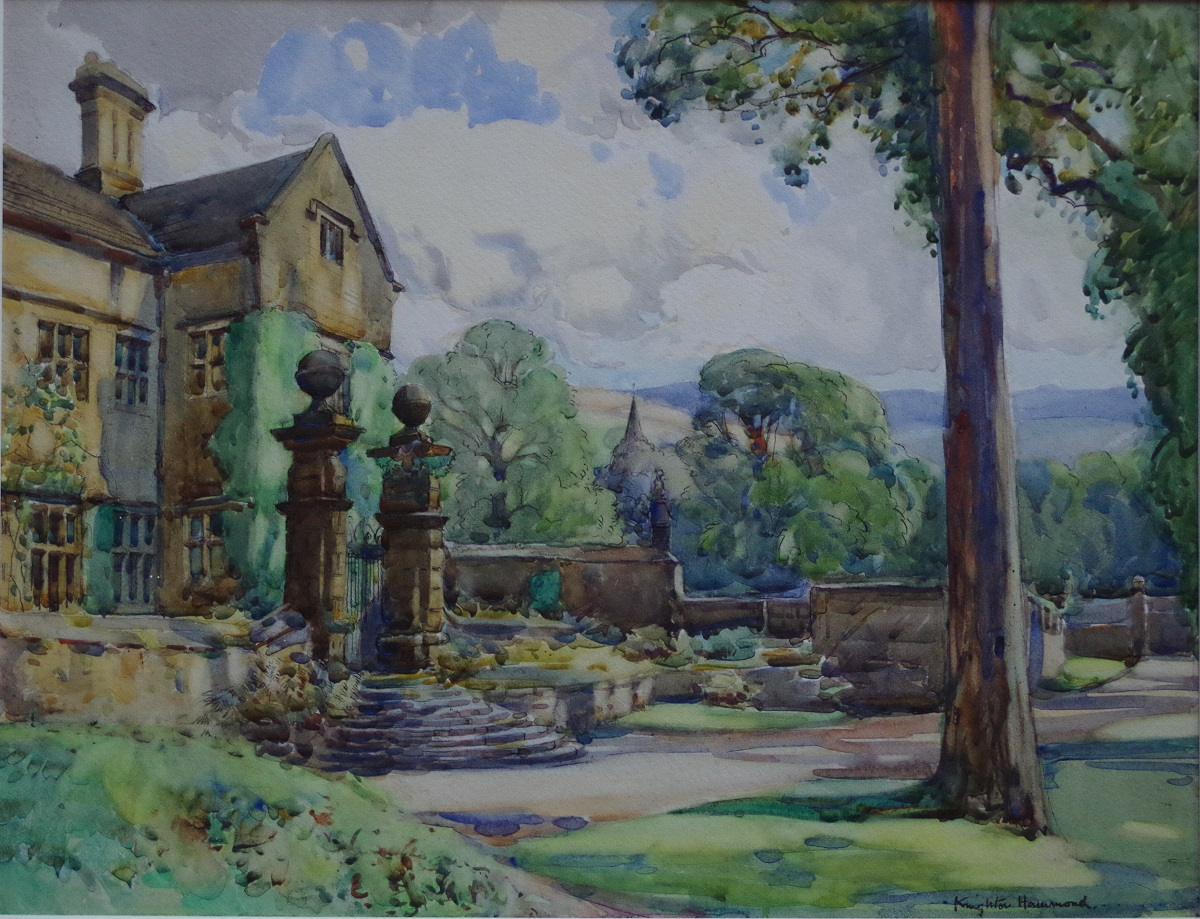 The Entrance at Derwent Hall