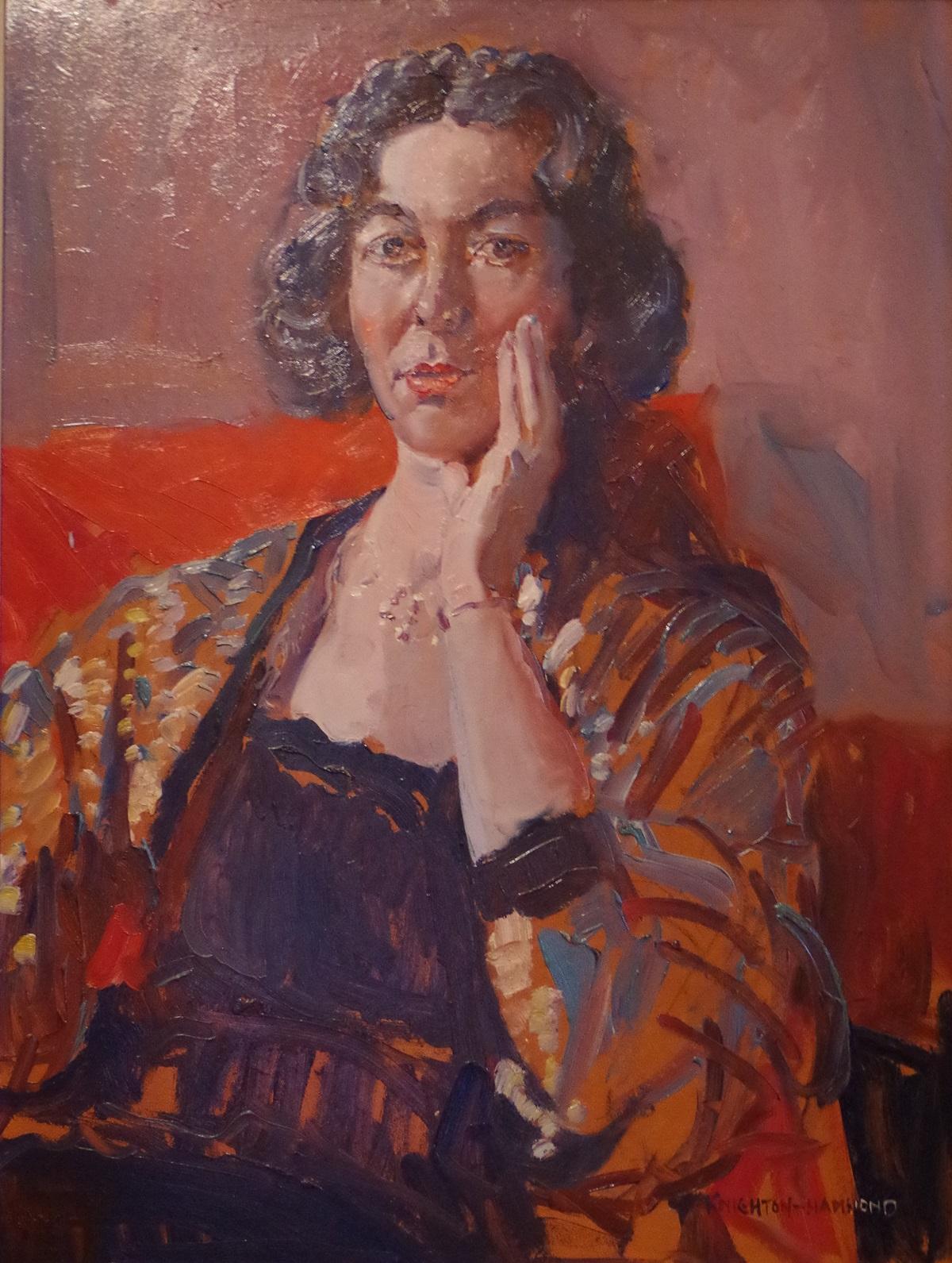 Portrait of Monica Baber
