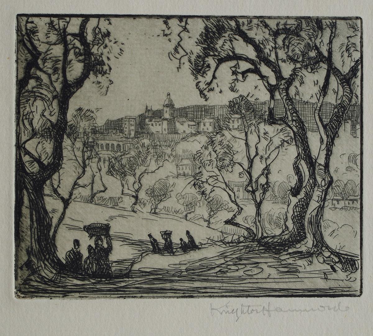La campagne autour de San Remo