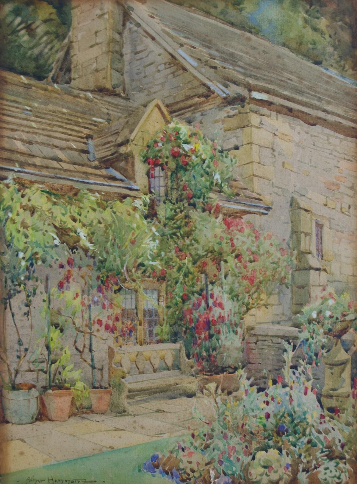 A Derbyshire Cottage