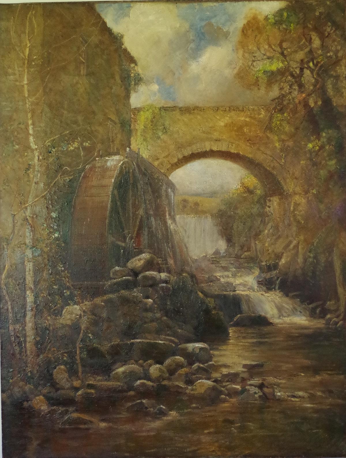 Pont Dwgan Mill, North Wales