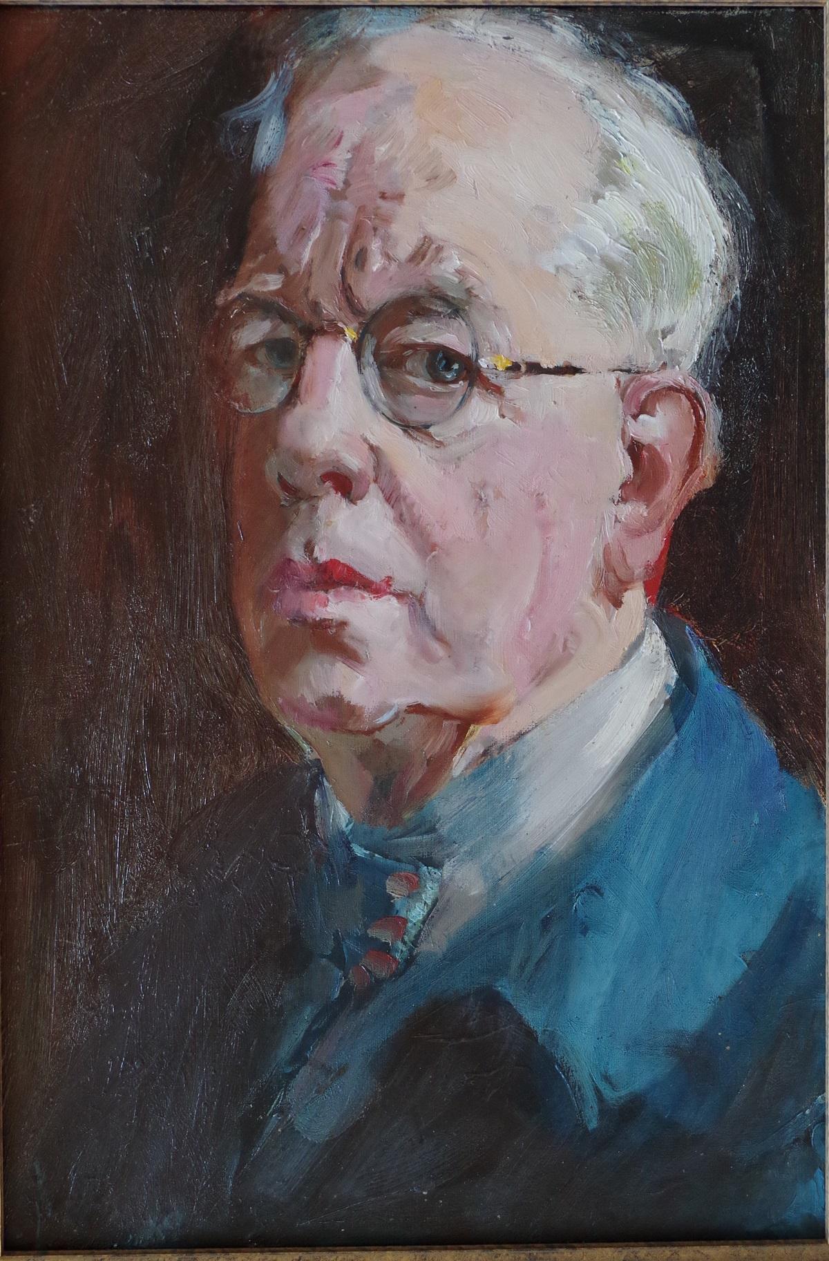 Knighton-Hammond self-portrait