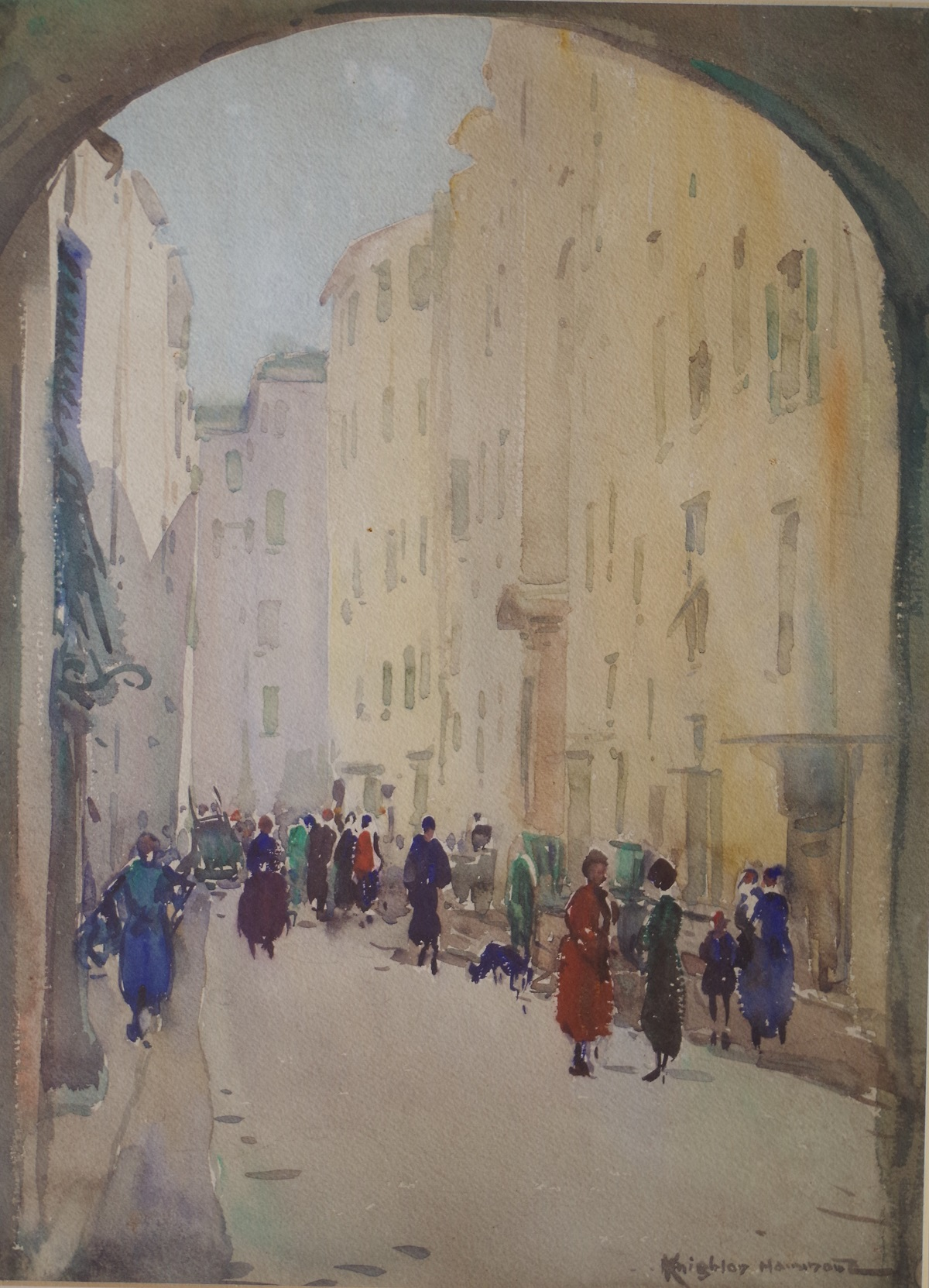 Street in Old Town, San Remo