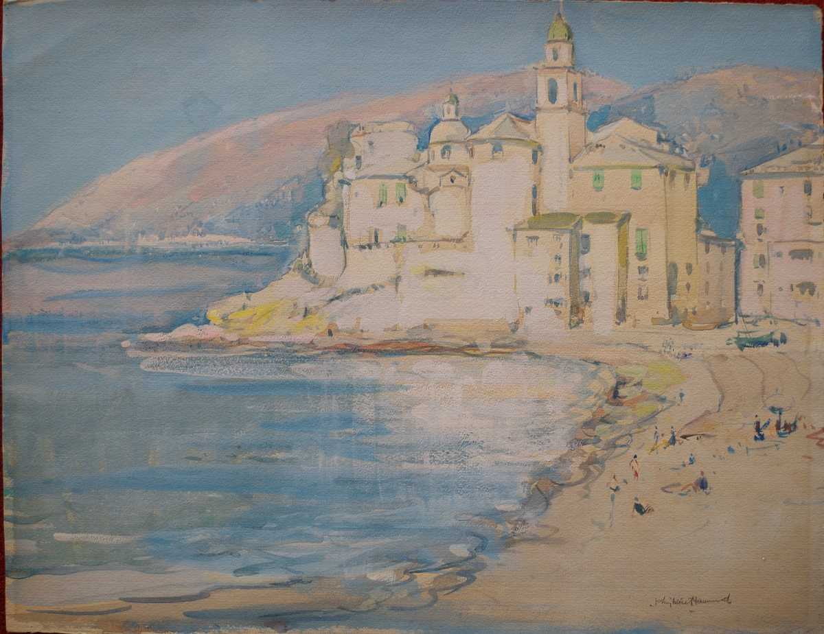 Mediterranean Coastal Town