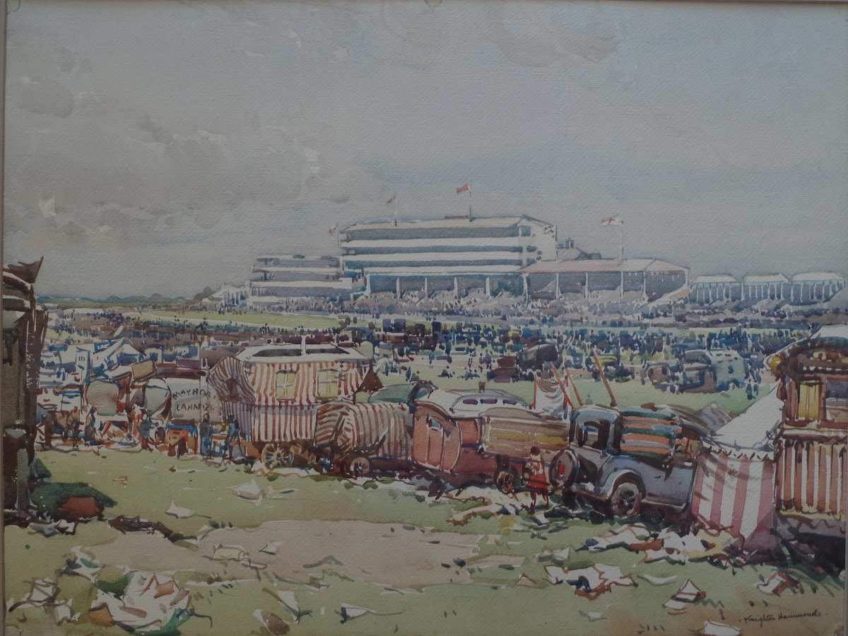 Race meeting at Epsom