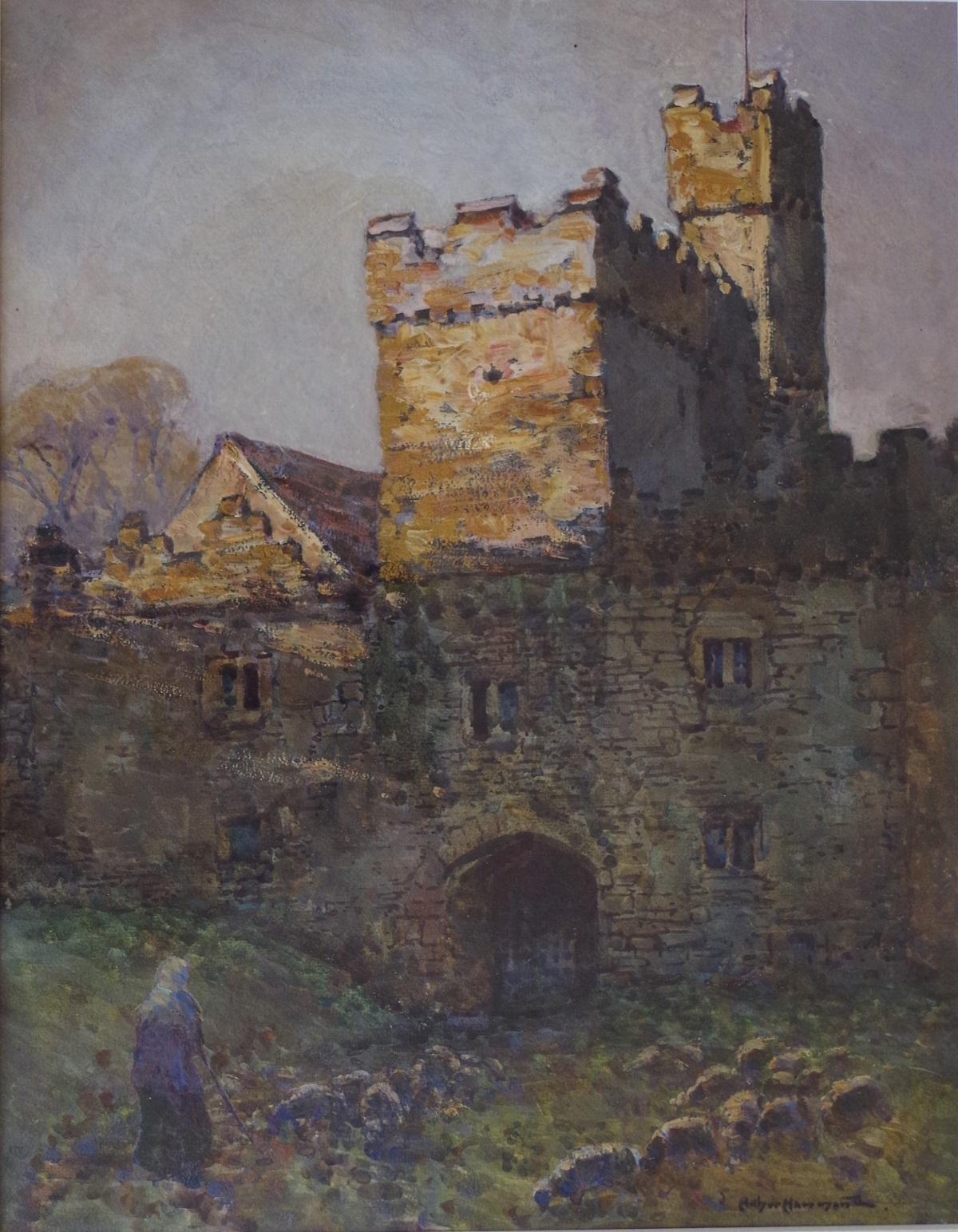 Entrance to a castle