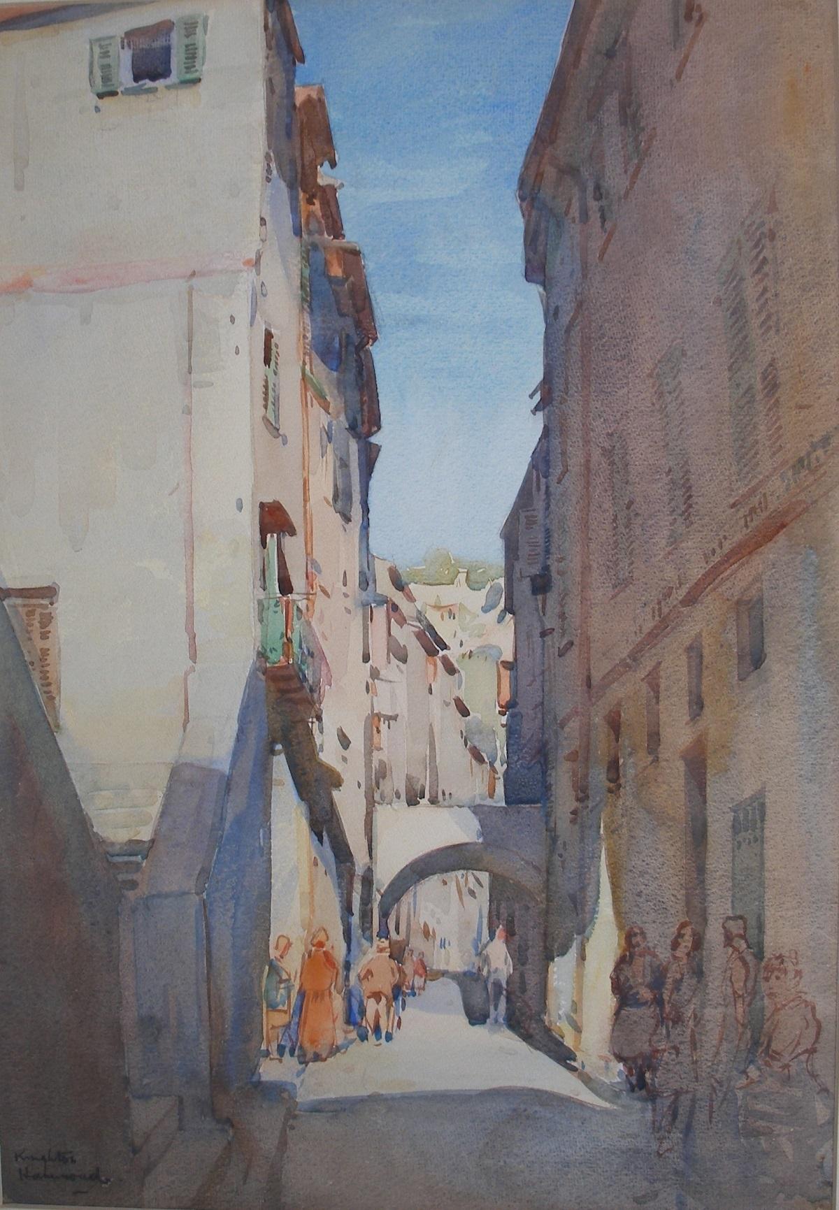 A Street in Menton