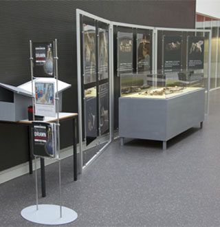 Display Stands for Staffordshire University