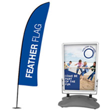 Outdoor Displays & Flags