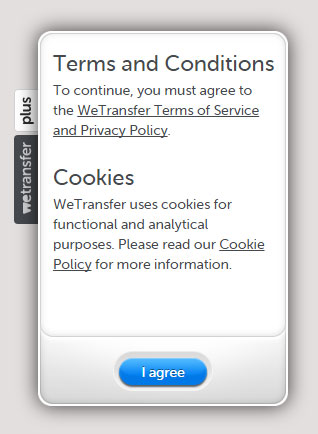 WeTransfer - Terms & Conditions