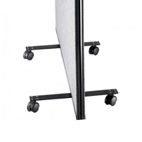Office Screen Wheeled Castors (pair)