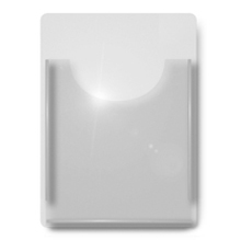 Cable & Rod Single A4 Leaflet Dispenser (For A4 Displays)