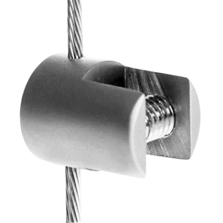 Vertical cable clamp