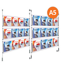12 x A5 Cable Display Kit - Leaflet Holders