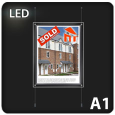1 x A1 LED Light Pocket