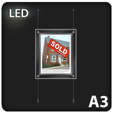 1 x A3 LED Light Pocket