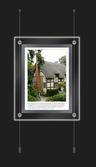 1 x A4 portrait or landscape kit - 8 watts