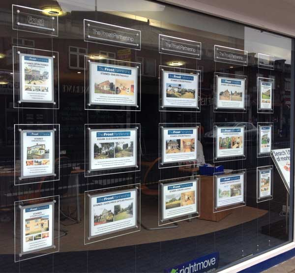 Use Illuminated window displays to advertise restaurant menus