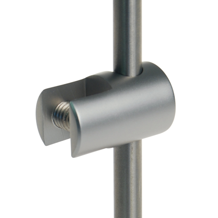 Vertical pocket clamp for 6mm rod