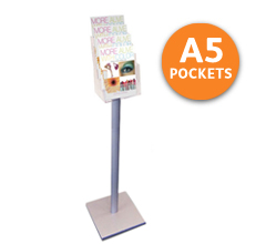 4-tier A5 Free Standing Leaflet Holder