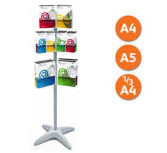 Mix & Match Revolving Leaflet Holder