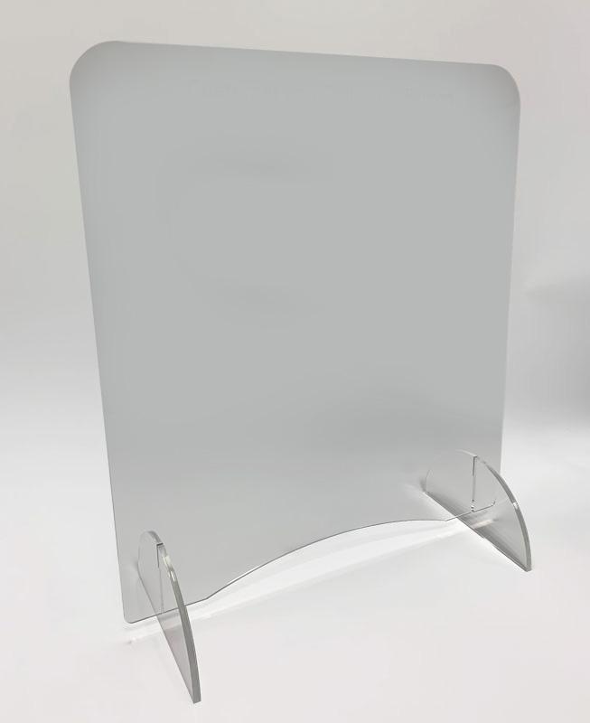 Counter top sneeze screen