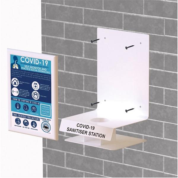 Easily mount onto a internal or external wall