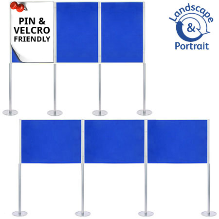 Attach posters to the A0 boards with pins and Velcro