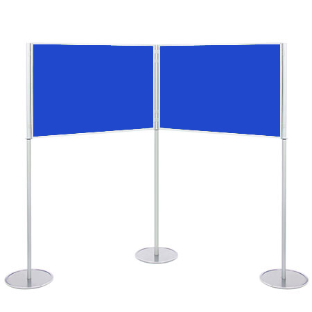 Landscape A0 display boards