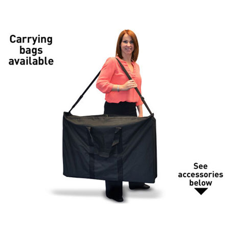 Full range of carry bags available - See accessories below