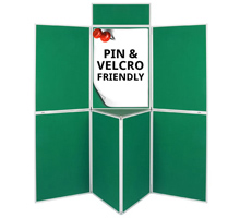 Pro-Fold 7 Panel Folding Display Boards & Tabletop