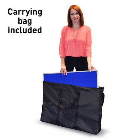 Carrying bag for folding display boards.