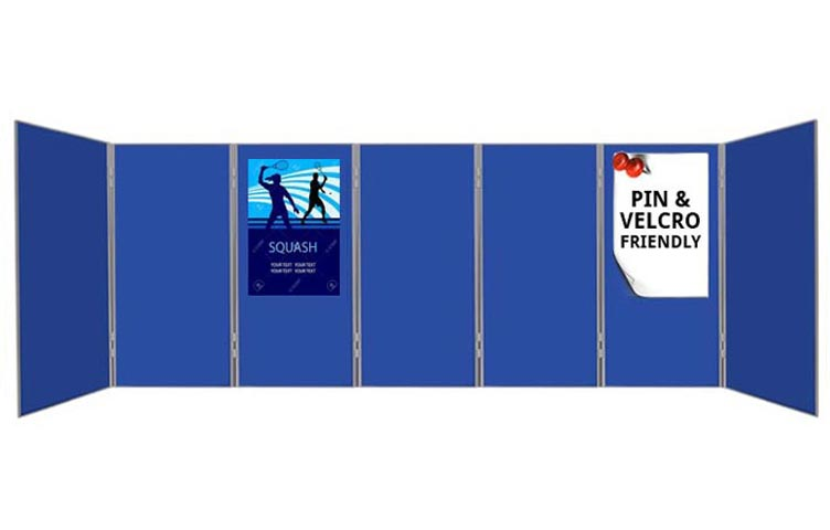 7 large panel and pole display boards perfect for poster presentations