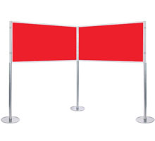 Elevated Double Panel 1800 x 900mm Display Kit