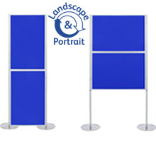 Pro-Link Panel & Pole Kit with 2x 1000 x 700mm Display Boards