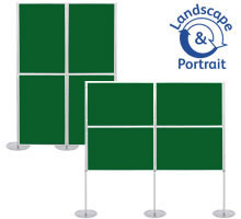 Pro-Link Panel & Pole Kit with 4x 1000 x 700mm Display Boards