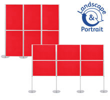 Pro-Link Panel & Pole Kit with 6x 1000 x 700mm Display Boards