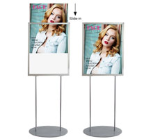 A1 Retail Poster Stand