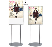 A2 Retail Poster Stand
