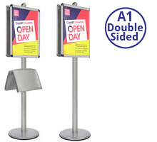 AXIS A1 Heavy Duty Sign Holder Double Sided