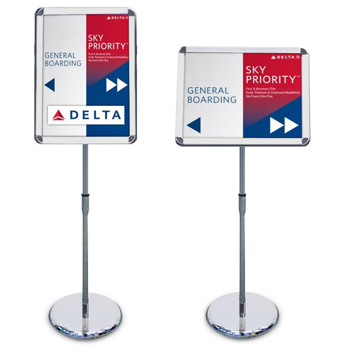 A2 poster sign stands