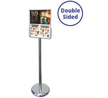 Mercury A4 Portrait Double Sided Sign Holders