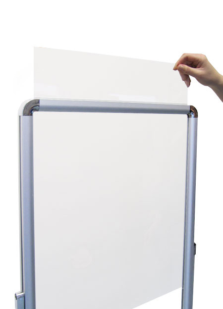 Top loading A4 posters | Double sided sign holders