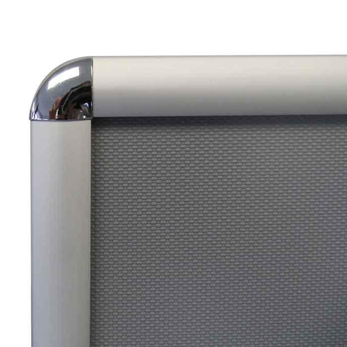 Stylish chrome corners