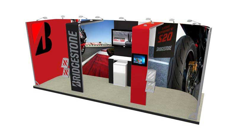 6m x 2m Trade Show Display