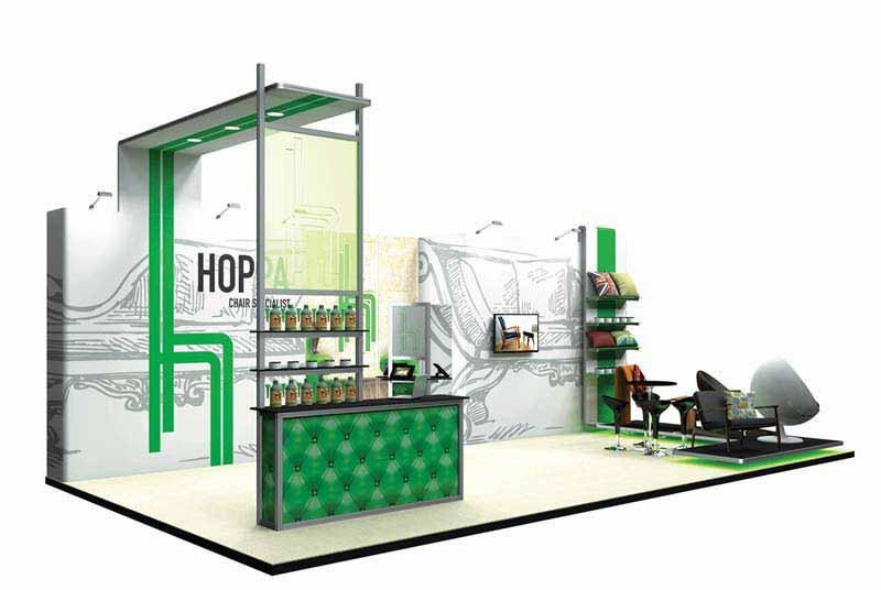 8m Exhibition Display Stand