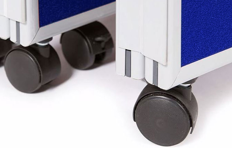Lockable castors