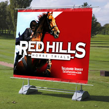 Extra Large Outdoor Banner Stand