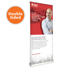Double Sided V6000 Pop-Up Banner